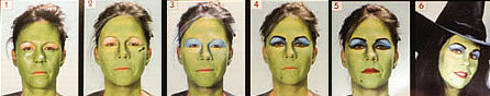 Halloween Witch Makeup Instructions