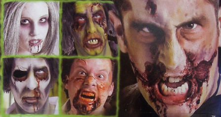 Halloween Zombie Makeup Ideas