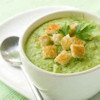 Cream of Zucchini and Basil Soup