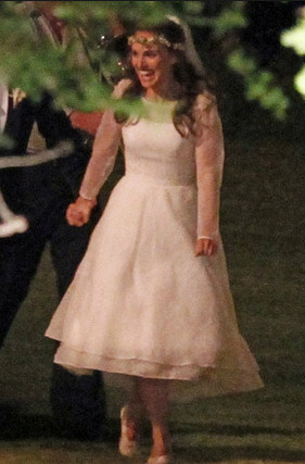 Natalie Portman's Wedding Dress
