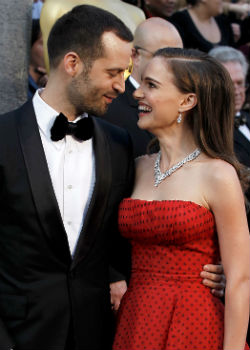 Natalie Portman and Benjamin Millepied Wedding
