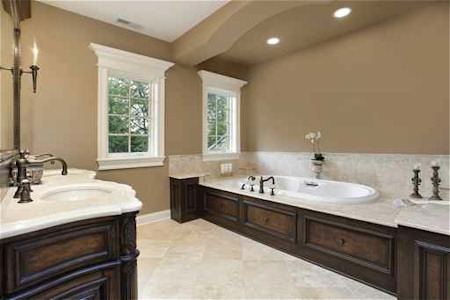 Master Bathroom Ideas Dot Com Women - Dark colored bathrooms