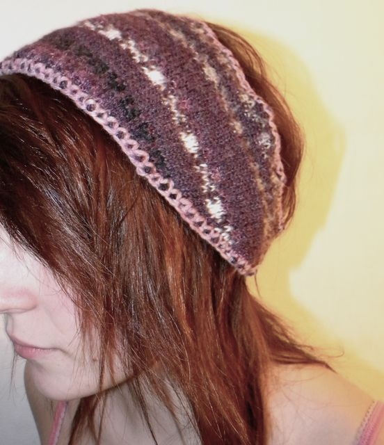 Headband made out of Recycled Old Sweater