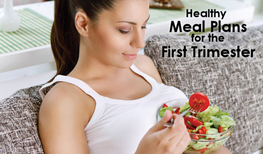 Pregnancy Diet Plan for First Trimester with Sample Meal Plans for each month