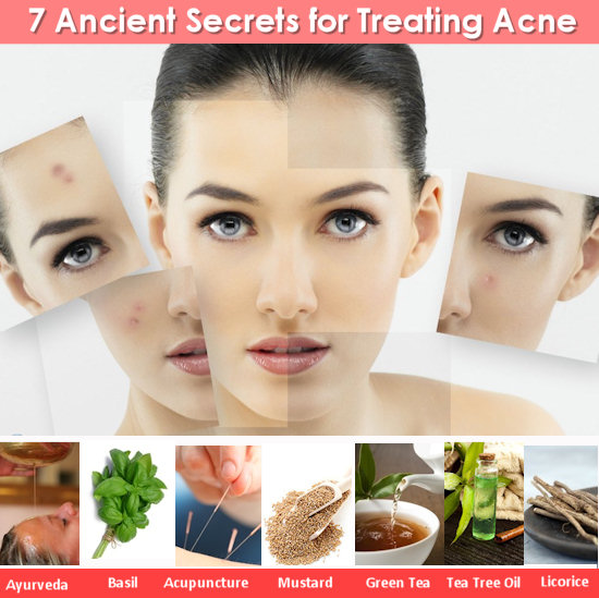7 Ancient Secrets for Treating Acne