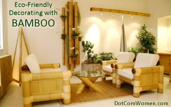 4 ways bamboo can transform your bathroom dot com women for Bamboo home decorations