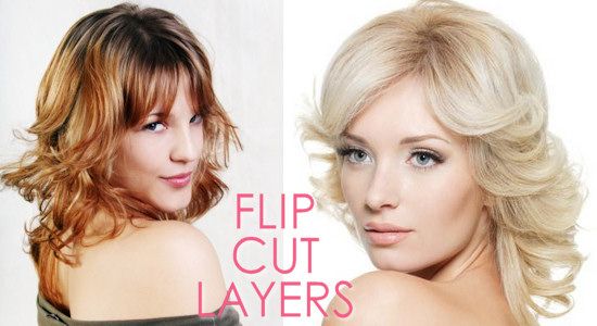 The Layered Long Flip Cut