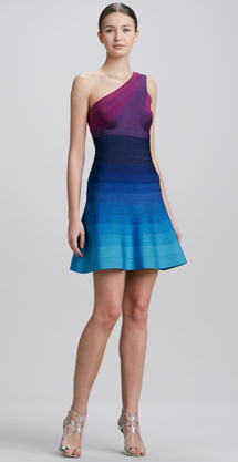 Ombre Cocktail Dress