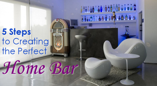 5 Steps to Creating the Perfect Home Bar