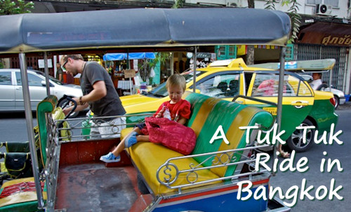 Take a Tuk-Tuk Ride in Bangkok