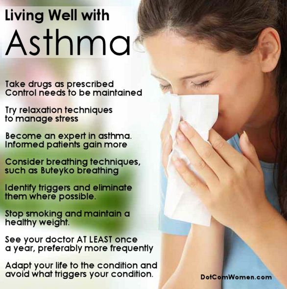 advice living with asthma relationships