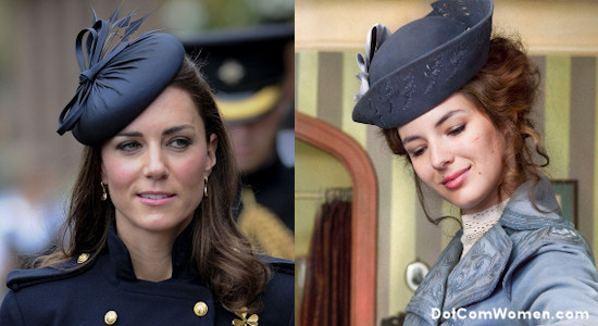Kate Middleton's Hats inspire French Actress