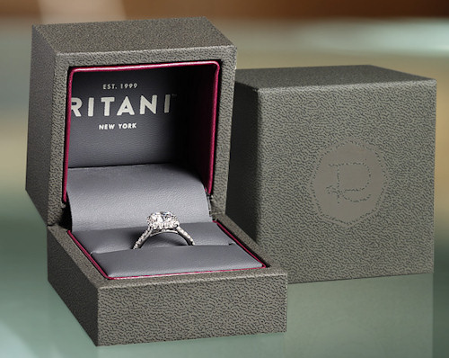 Ritani Engagement Rings in Platinum
