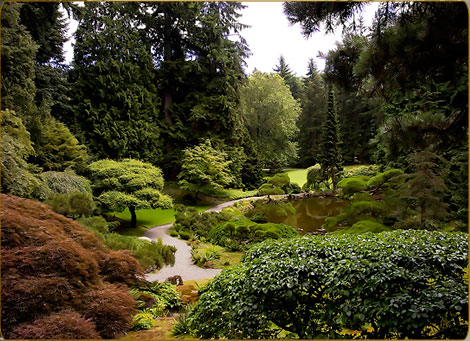 The Bloedel Reserve in Washington