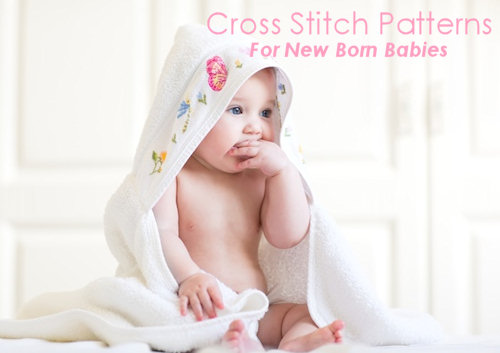 Cross Stitch Patterns For New Born Babies