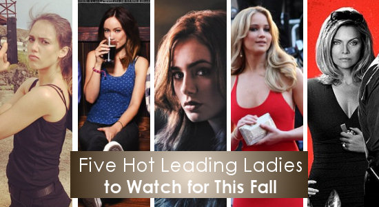 Five Hot Leading Ladies to Watch for This Fall