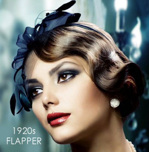 1920s Flapper Makeup for Parties