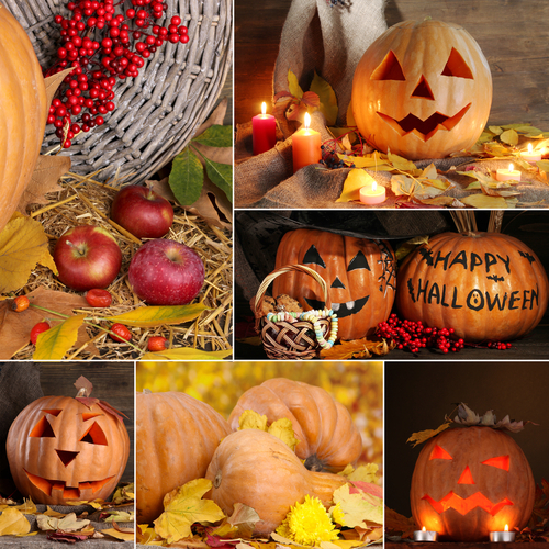 Ideas for Decorating for Halloween with Pumpkins