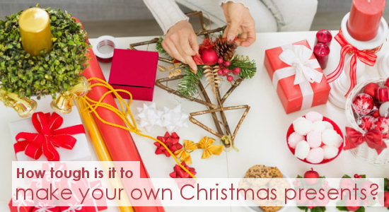 homemade christmas gift ideas how tough is it to make your own christmas presents
