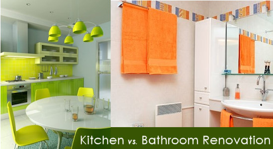 Kitchen or Bathroom Renovation: which adds more value?