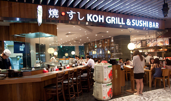 Koh Sushi And Grill Koh Grill Sushi Bar