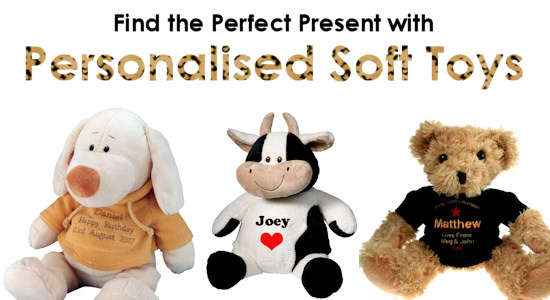 Find the Perfect Present with Personalised Soft Toys