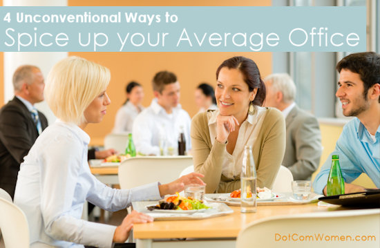 4 Unconventional Ways to Spice up your Average Office