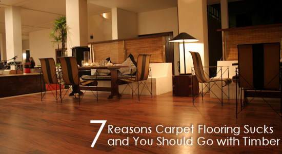 7 Reasons Carpet Flooring Sucks and You Should Go with Timber