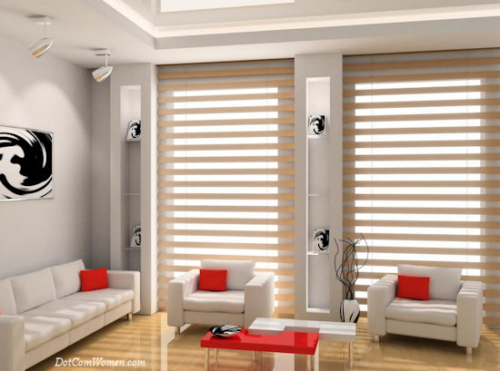 Curtains Ideas curtains & blinds : Blinds vs. Curtains For The Home - How Do I Decide? - Dot Com Women