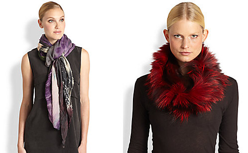 autumn fashion - scarves and neck-warmers