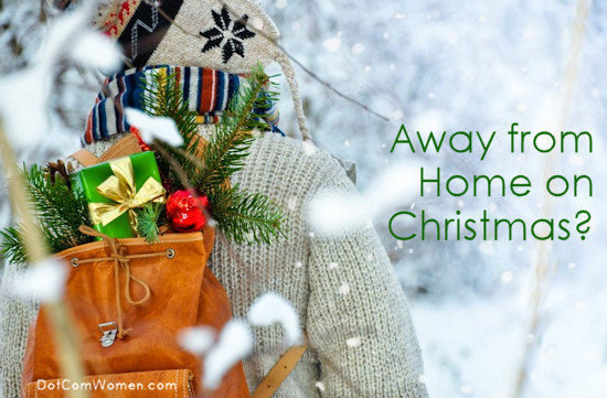 How to Celebrate Christmas When You Are Far Away From Home