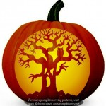 Pumpkin Carving Ideas Tree
