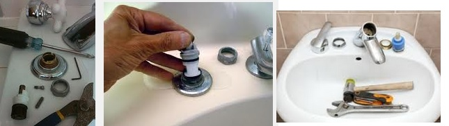 DIY kitchen faucet repair