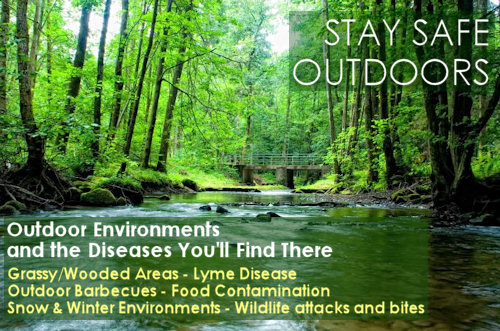 3 Outdoor Environments and the Diseases You'll Find There