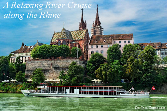 A Relaxing River Cruise along the Rhine