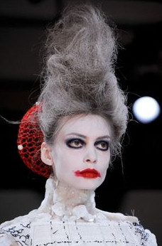 thom browne halloween makeup 2