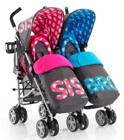 pushchair for twins