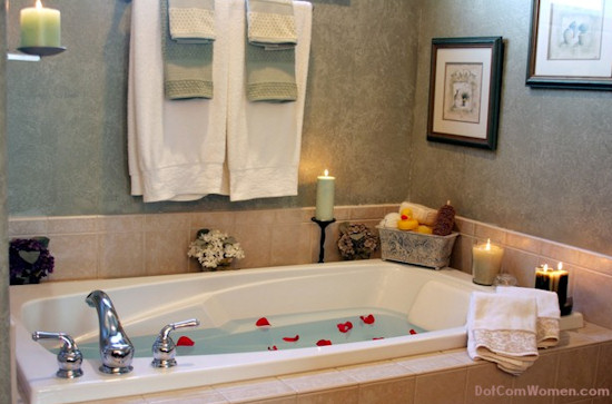 Bathroom With Candles
