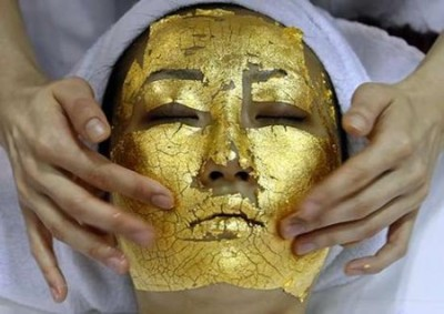 The 24-karat Gold Facial