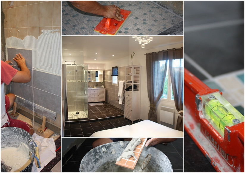 DIY Bathroom Tiling