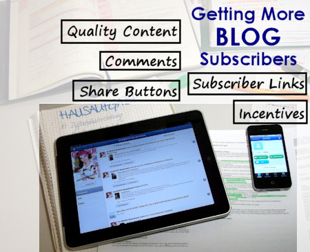 How To Get More Subscribers for Your Blog – An SEO Primer