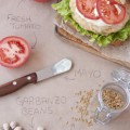 Garbanzo Beans and Flax Seed Vegetarian Burger