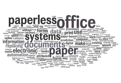 Moving Towards a Paperless Office