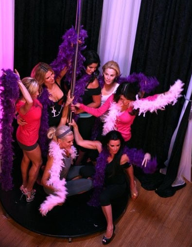 Real Housewives of Beverly Hills Burlesque Class