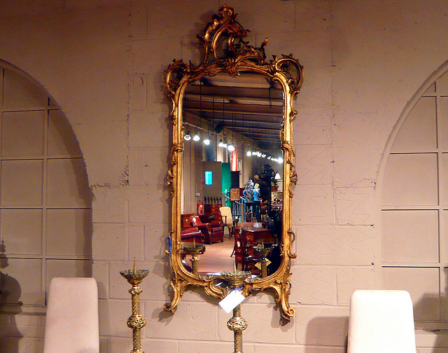 How to clean an antique mirror