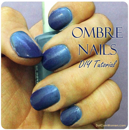 Ombre Nails DIY Tutorial with Sponge