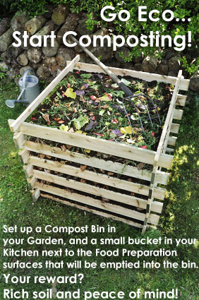 Start Composting Today .... Go Eco-Friendly!