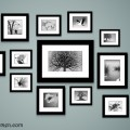 Use your own photos in Black and White to create stunning wall decor