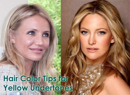 Hair Coloring Tips for Yellow Undertones