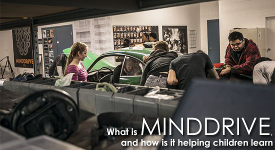 What is Minddrive, and how is it helping children learn